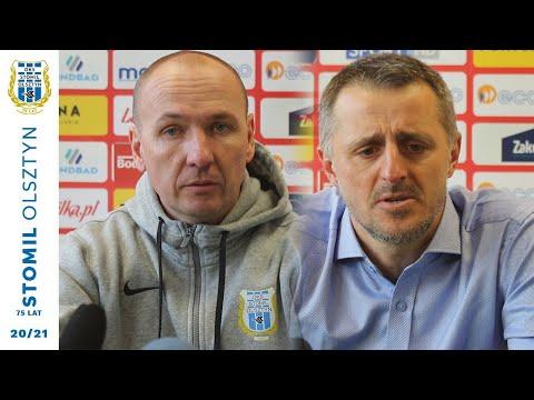 Wypowiedzi trenerów po meczu Odra Opole - Stomil Olsztyn 1:2
