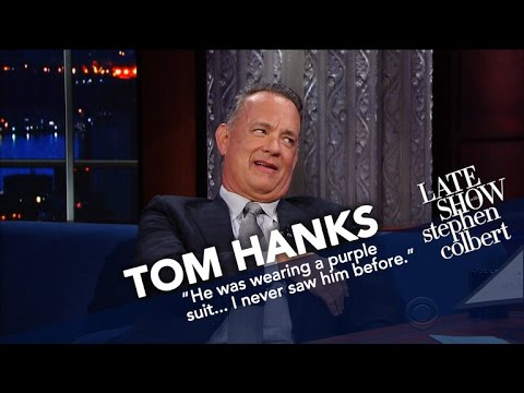 Tom Hanks Honored As Late Show's 'Hunk Of The Day'