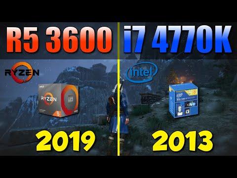 R5 3600 vs i7-4770K