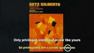 João Gilberto & Stan Getz - Desafinado (Off-key) - English subtitles