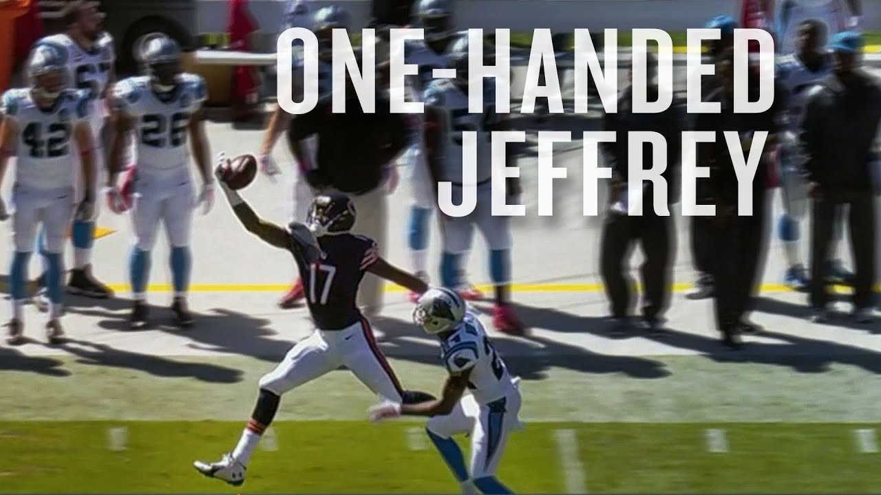 Alshon Jeffery makes crazy one-handed catch thumbnail