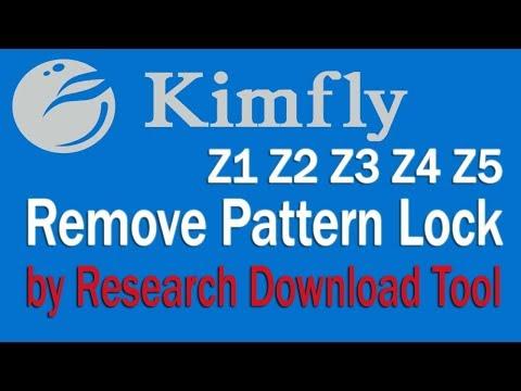 Kimfly Z1, Z2, Z3, Z4, Z5 UNLOCKING without BOX video - смотреть