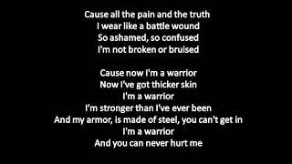 Demi Lovato   Warrior (Lyrics | Lyric Video)