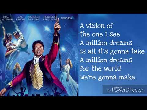 A Million Dreams Lyrics Mp3