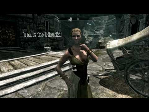 Skyrim: how to divorce my current wife then marry hroki in