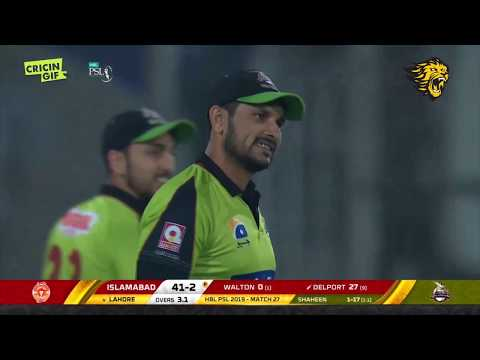 Match 27 – Islamabad United vs Lahore Qalandars | ROAR MOMENTS