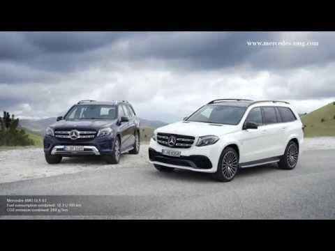 Mercedesbenz  Gls Class Внедорожник класса J - рекламное видео 1