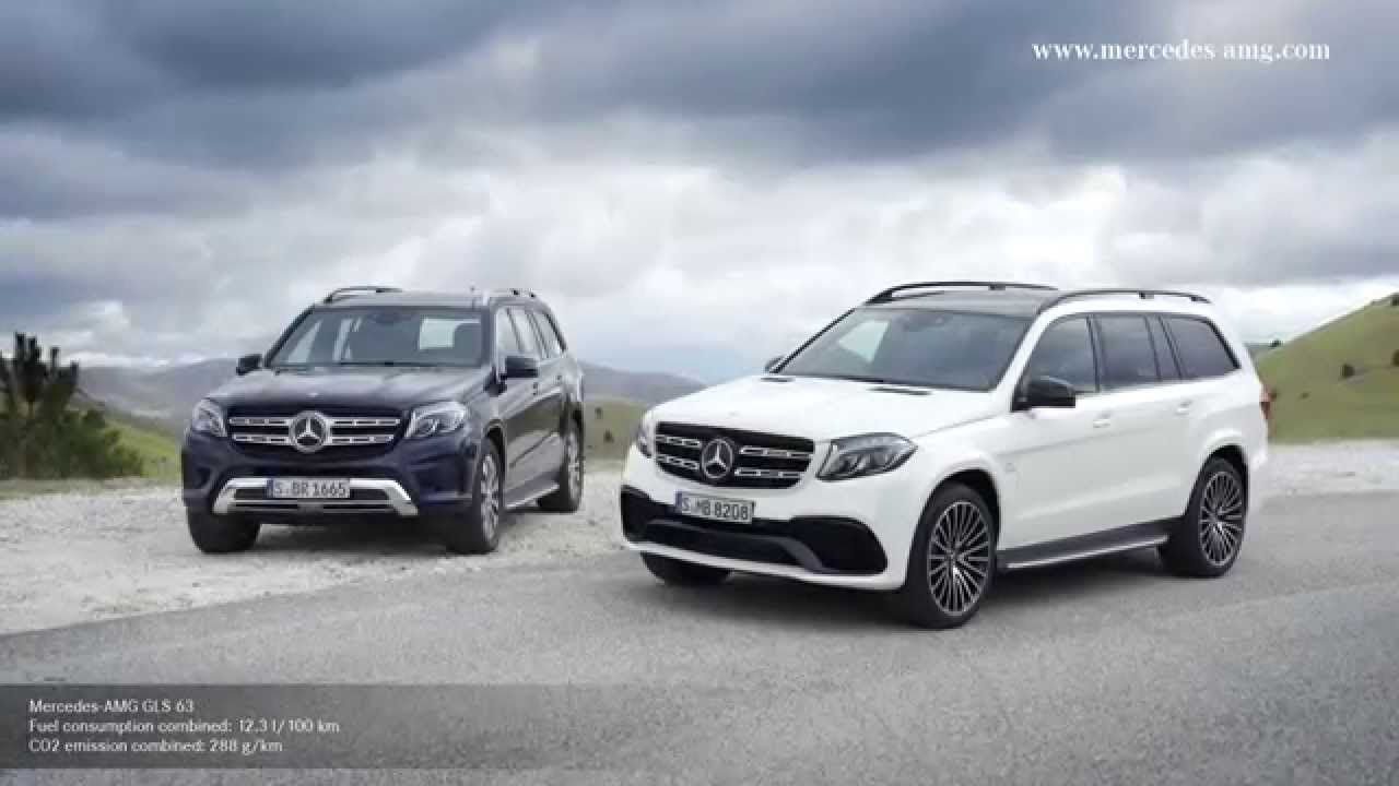 Mercedes amg gls 63 4matic suv for Mercedes benz gls amg
