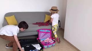 Чемодан YES  детский на колесах Urban, LG-5 код: 557832 от компании Креатив Маркет - видео