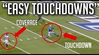 Easiest Touchdowns In NFL History || HD (Part 3)