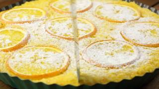 Вкусный апельсиновый пирог — САМЫЙ ПРОСТОЙ рецепт в духовке!