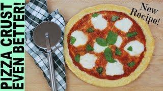 GLUTEN FREE PIZZA CRUST RECIPE How To Make Gluten Free Pizza Dough Pizza Margherita