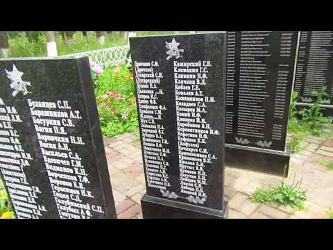 Братская могила в с. Воронеты близ г. Сухиничи Калужской области.
