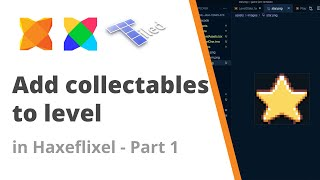 14. Adding collectables with Tiled Map editor to a HaxeFlixel game - Part 1