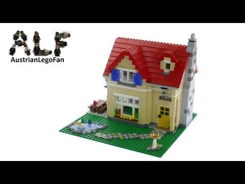 Vidéo LEGO Creator 6754 : La maison de famille