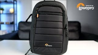 EDC Camera Bag: Lowepro Tahoe BP150 Backpack, Another CAMERA BAG Video!
