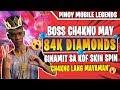 BOSS CH4KNU GINAMIT ANG 84K DIAMONDS PARA SA BAGONG KOF SKIN 😲 | MOBILE LEGENDS PH