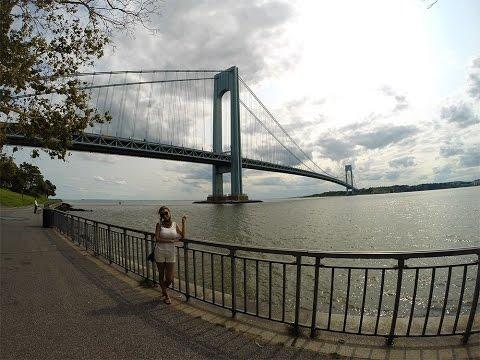 Нью Йорк Бруклин, прогулка