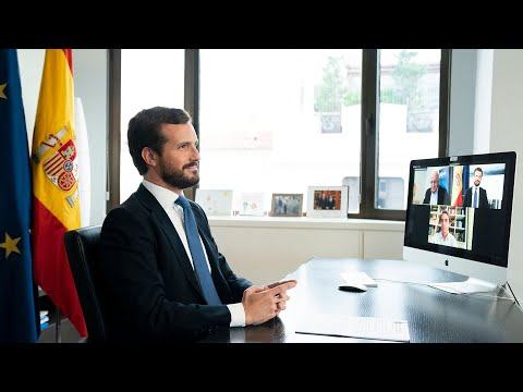 """Casado: """"La responsabilidad de la pandemia es del Gobierno, por mucho que la coalición PSOE-Podemos derive su negligencia a las CCAA"""""""