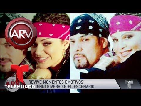 Mariposa de Barrio revive momentos emotivos de Jenni Rivera   Al Rojo Vivo   Telemundo