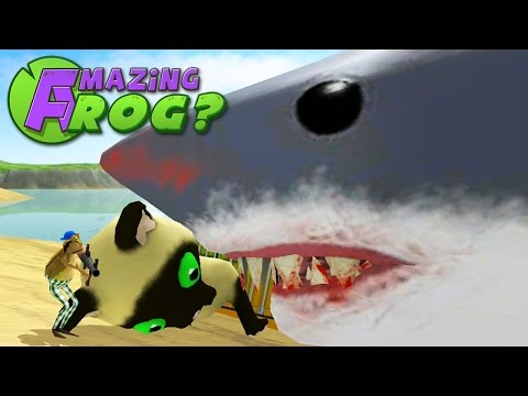 Amazing Frog - GIANT SHARK MEET GIANT KITTEN - Part 29