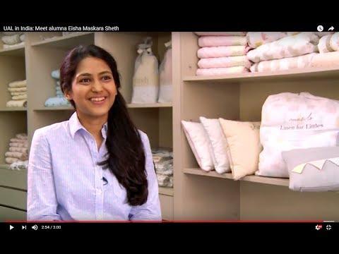 UAL in India: Meet alumna Eisha Maskara Sheth