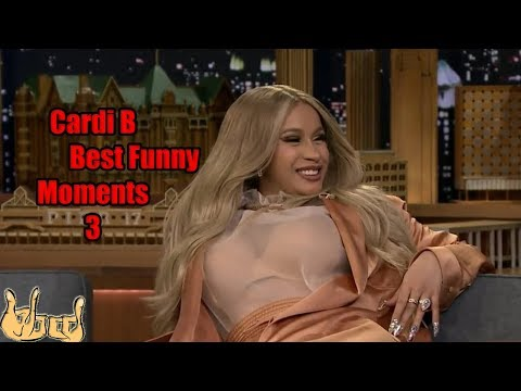 CARDI B Best Funny Moments, Sounds And Interviews COMPILATION