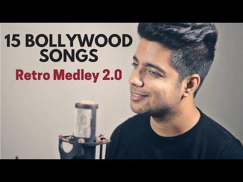 15 Old Hindi Songs | Bollywood Retro Medley 2.0 | Siddharth Slathia