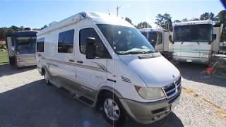 2006 Leisure Travel Free Spirit  210 B Class B Camper Van, Mercedes Diesel, 22+ MPG $44,900