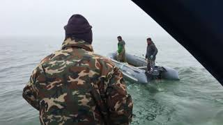 Стала известна предыстория инцидента с тараном пограничниками лодки аборигенов