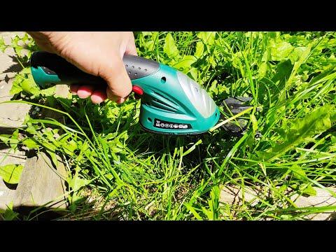 Садовый аккумуляторный ручной триммер POSENPRO для стрижки травы и живой изгороди