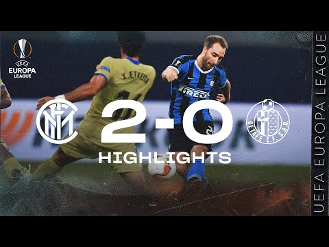 INTER 2-0 GETAFE | HIGHLIGHTS | 2019/20 UEFA Europa League Round of 16 🏆⚫🔵