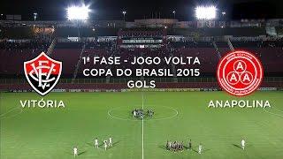 Vitória 1x1 Anapolina