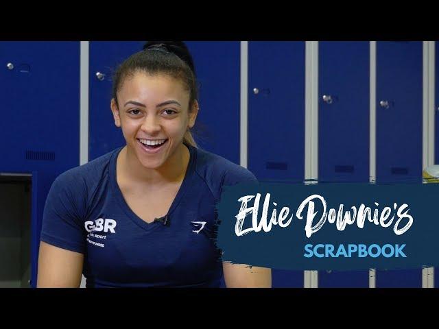 Watch Ellie Downie's gymnastics scrapbook
