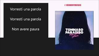 Tommaso Paradiso - Non Avere Paura | audio Lyrics |