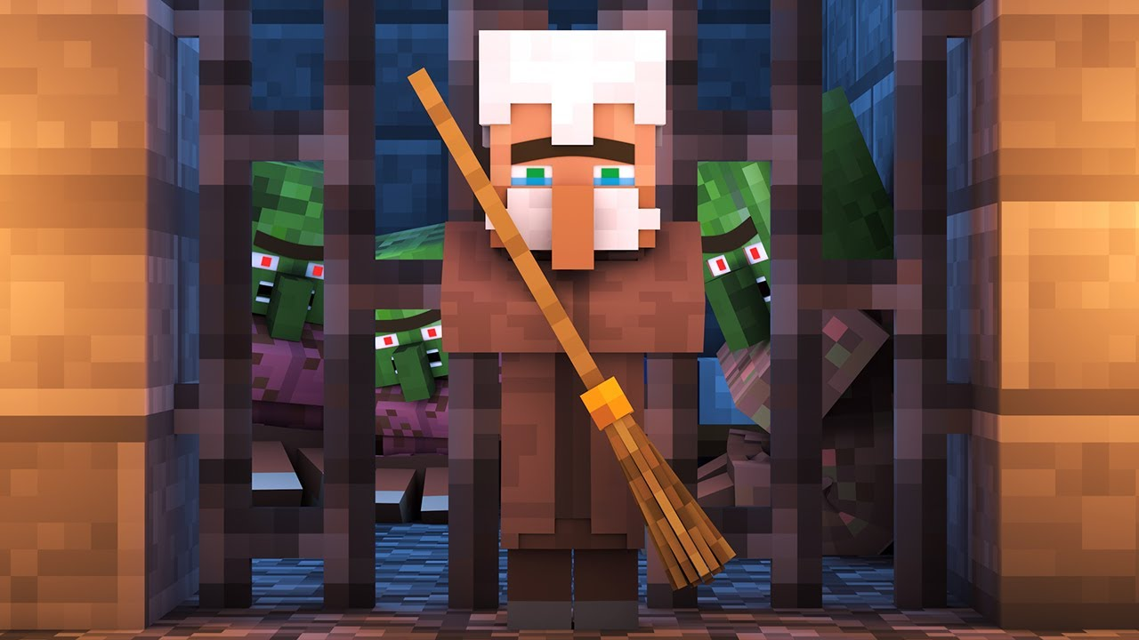 Zombie vs Villager Life 7 - Alien Being Minecraft Animation - YouTube
