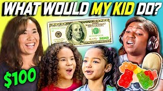 CAN PARENTS GUESS WHAT THEIR KID DOES WITH 100 DOLLARS? Ep. #4
