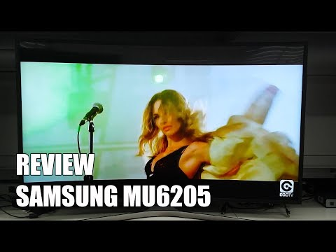 Review Samsung MU6205 Nueva Television 4K UHD Smart TV HDR 2017