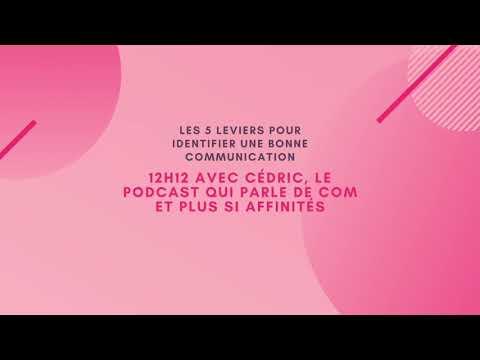 LE 12H12 AVEC CEDRIC, LE PODCAST QUI PARLE DE COM ET PLUS SI AFFINITES   EP 1