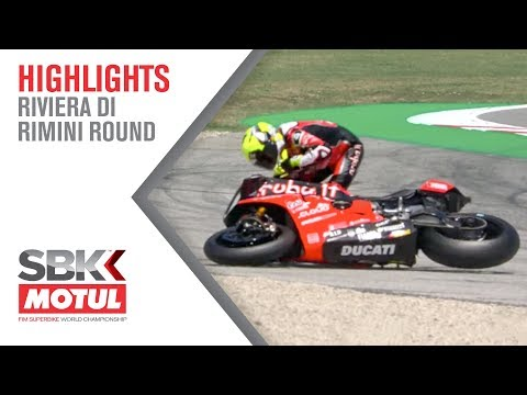 Bautista Crashes at Race 2! | Riviera Di Rimini Round 2019 | WorldSBK