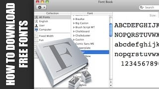 How To Download Free Fonts On A Mac - Microsoft Office, Final Cut Pro, IMovie, Text Edit