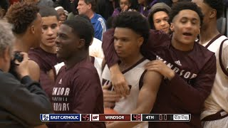 Highlights: Windsor 48, East Catholic 45