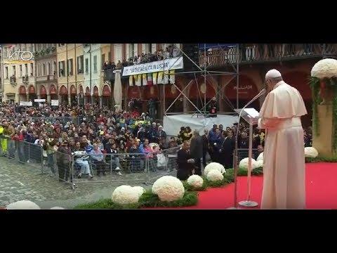 Rencontre avec la population de Cesena (diocèse de Bologne - Italie)