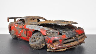 Restoration Abandoned Dodge Viper SRT 10 ACR Model Car