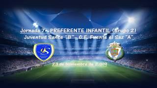 R.F.F.M. - Jornada 7 - Preferente Infantil (Grupo 2): Juventud Sanse 0-1 C.F. Fuente El Saz.