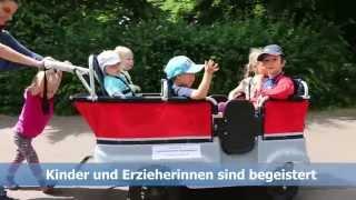 """Stupfericher Selbständige stiften """"Turtle Kinderbus"""" an Kindergarten"""
