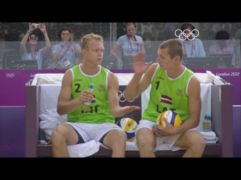Preview video Beach Volleyball Men´s Bronze Medal - Latvia v Netherlands - London 2012 Olympic Games Highlights