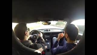 Crazy 991 Porsche GT3 drifting