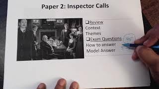 Paper 2 Literature: Inspector Calls Revision Y10 MOCK