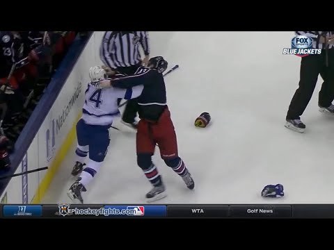 Scott Hartnell vs. Ryan Callahan